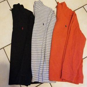 Polo quarter zip sweater (lot of 3) XL